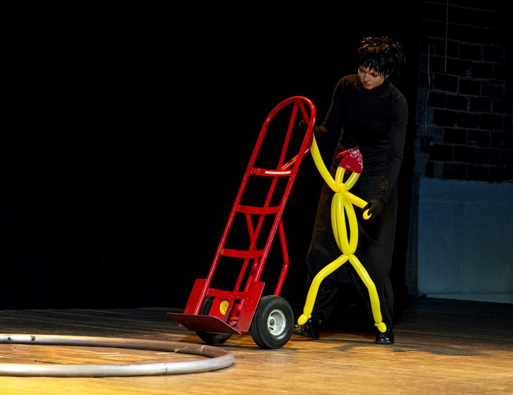 Elvis as Stagehand