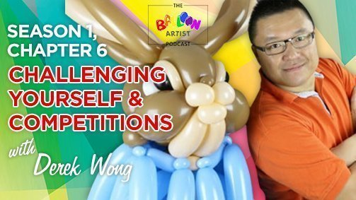 Derek Wong Balloon Artist