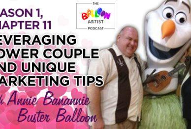 Buster Balloon and Annie Banannie