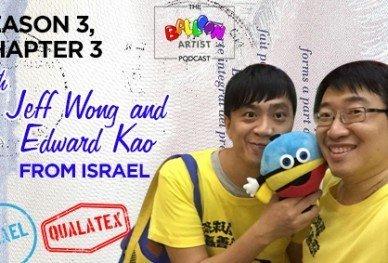 Edward Kao Balloon Artist